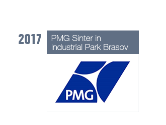 PMG Sinter in Industrial Park Brasov